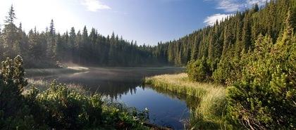 Марічейка озеро Карпати