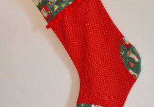 червона шкарпетка