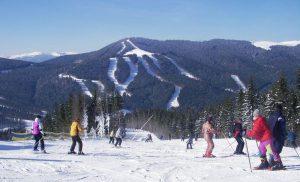Буковель лижі зима
