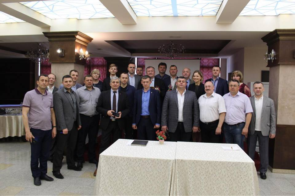 """Результат пошуку зображень за запитом """"Голови об'єднаних територіальних громад області налагоджують співпрацю з керівниками румунських муніципалітетів"""""""