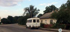 На Прикарпатті при виїзді з автовокзалу зупинили нетверезого водія маршрутки (ФОТО)