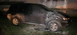 У Коломиї підприємцеві підпалили дорогий автомобіль (ФОТО)
