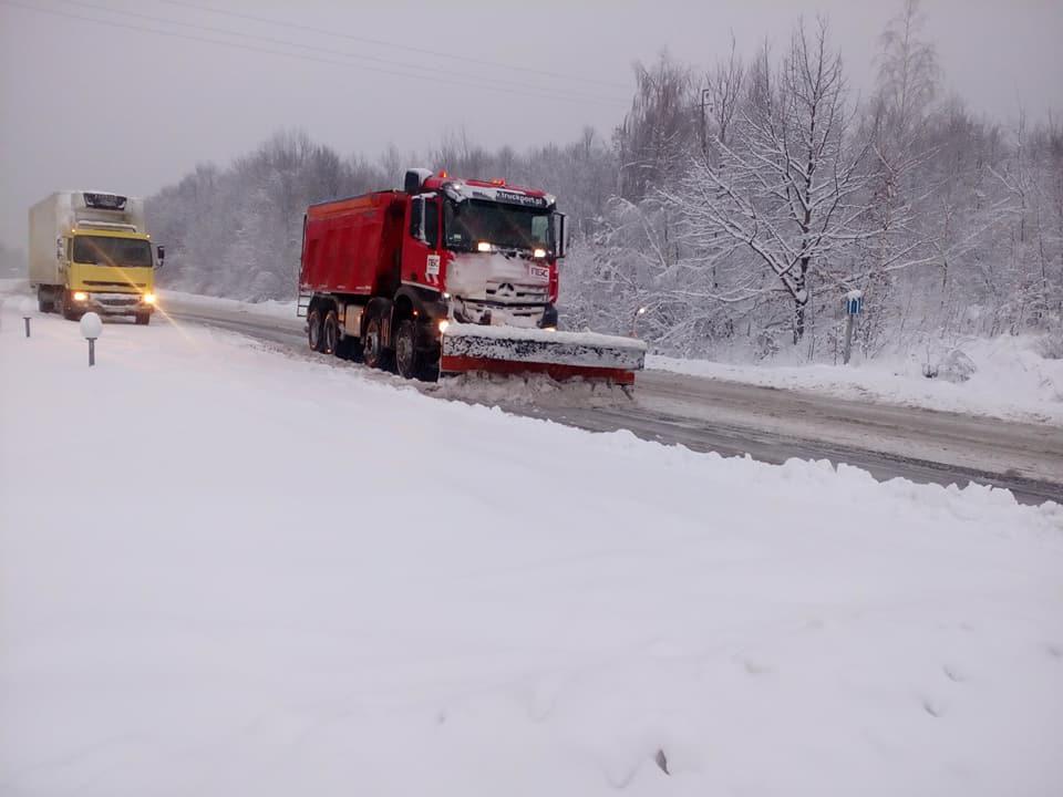 дороги, зима, Прикарпаття