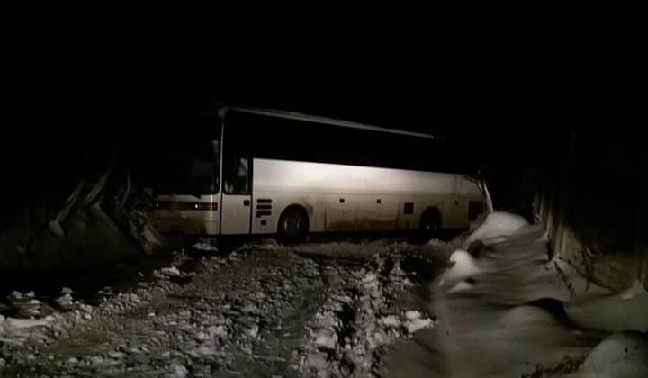 снігопад, Прикарпаття