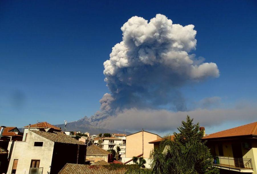 Етна, вулкан