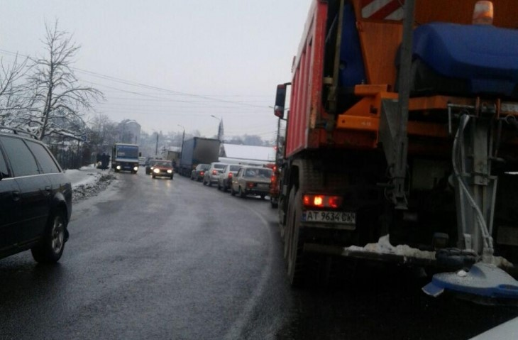 ожеледиця, Івано-Франківщина