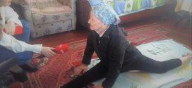 Пенсіонерка встановила рекорд України, сівши на шпагат у 93 роки (ФОТО)