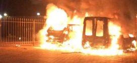 У Києві спалили автомобіль журналіста з Івано-Франківщини (ВІДЕО)