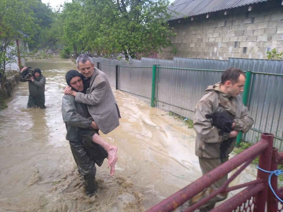 вода, потоп, Прикарпаття