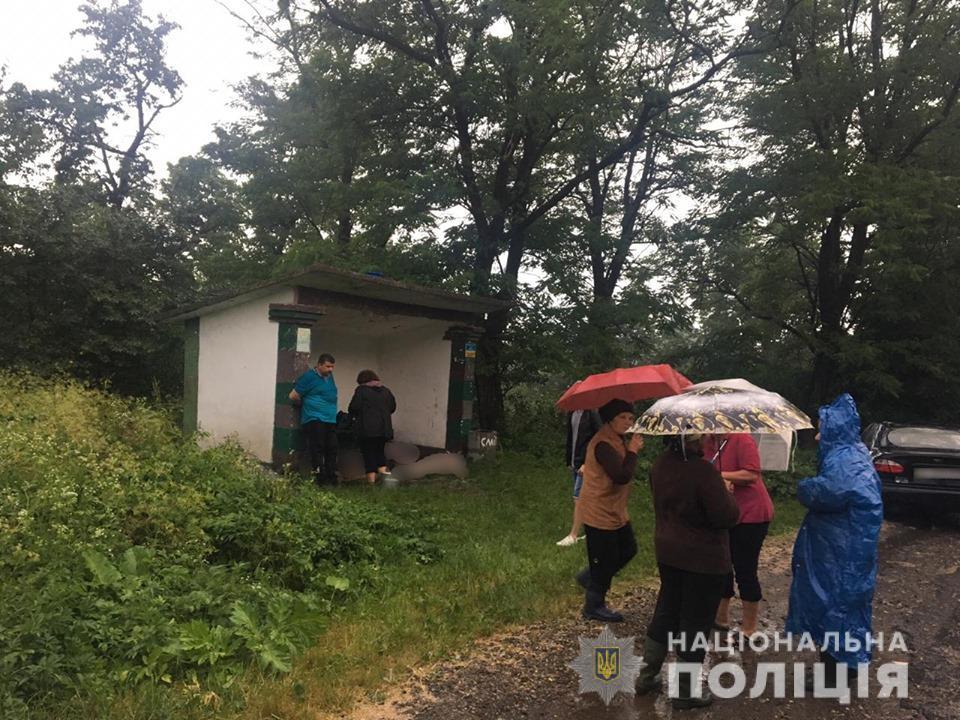 блискавка, Івано-Франківщина