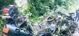 <strong>Смертельна аварія на Прикарпатті – автомобіль влетів у дерево (ФОТО)</strong>
