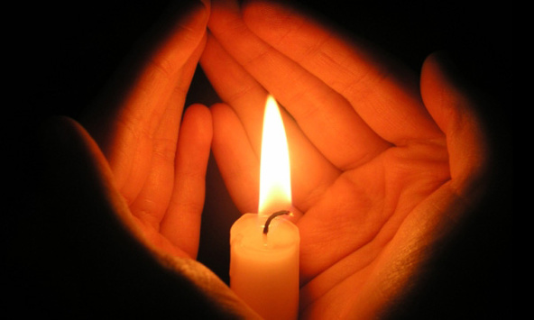 свічка, жалоба, траур