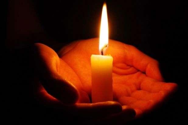 свічка, вічная пам'ять