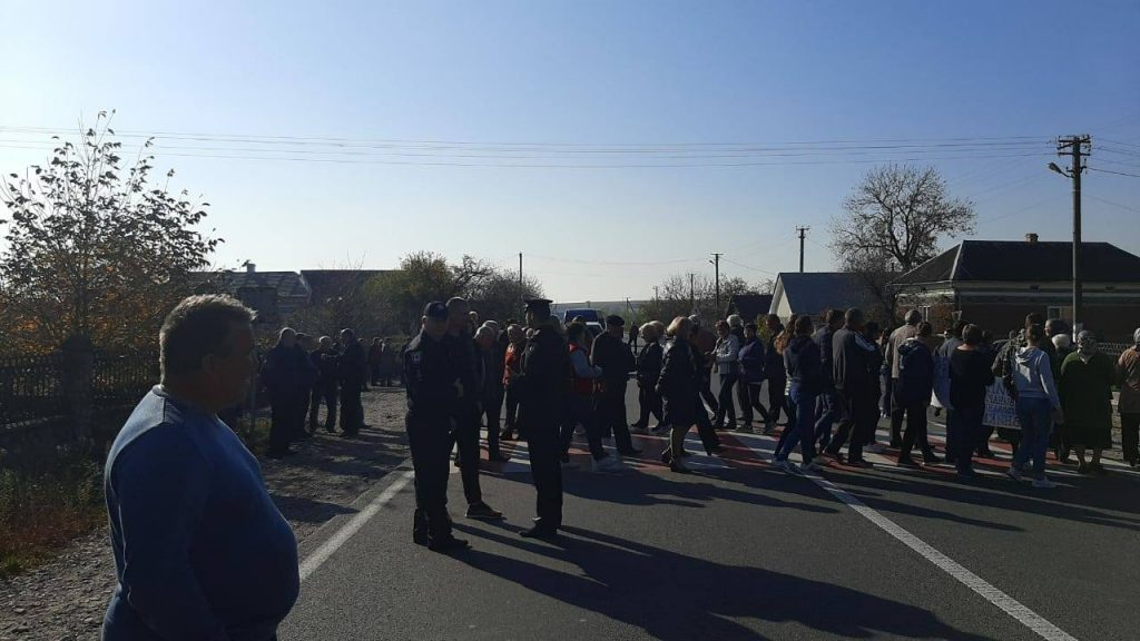 Насташине протест