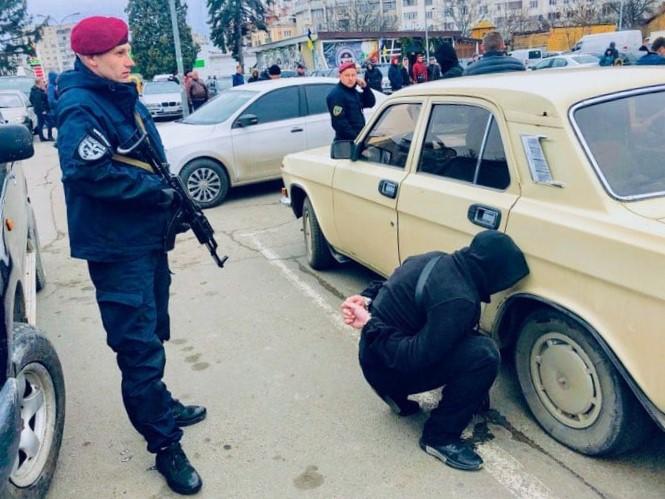 банда з Одеси в Івано-Франківську