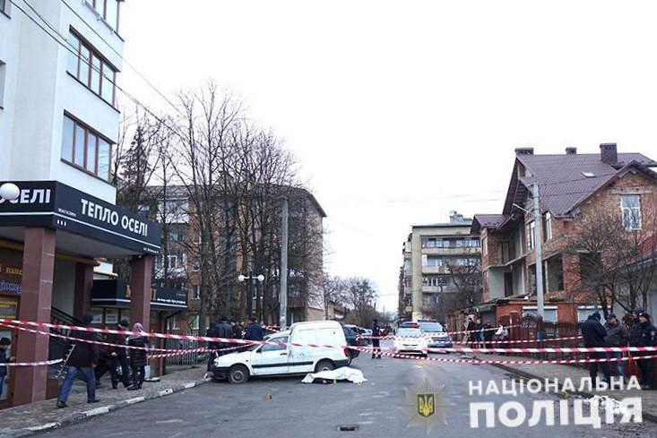 вбивство Шелепіна, Івано-Франківськ