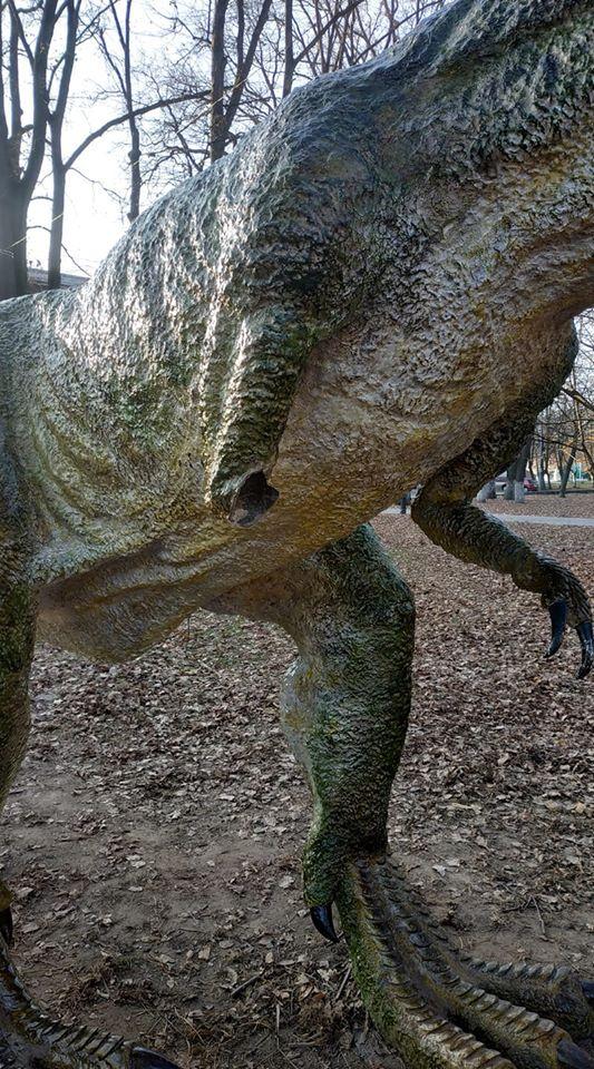 динозавр, Івано-Франківськ