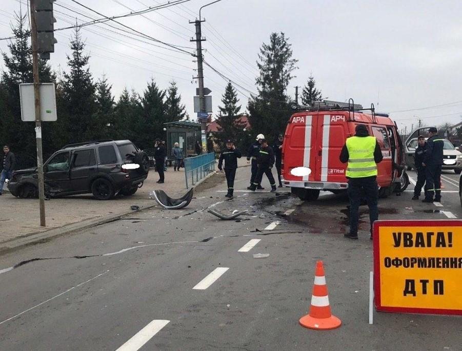 ДТП, Івано-Франківськ