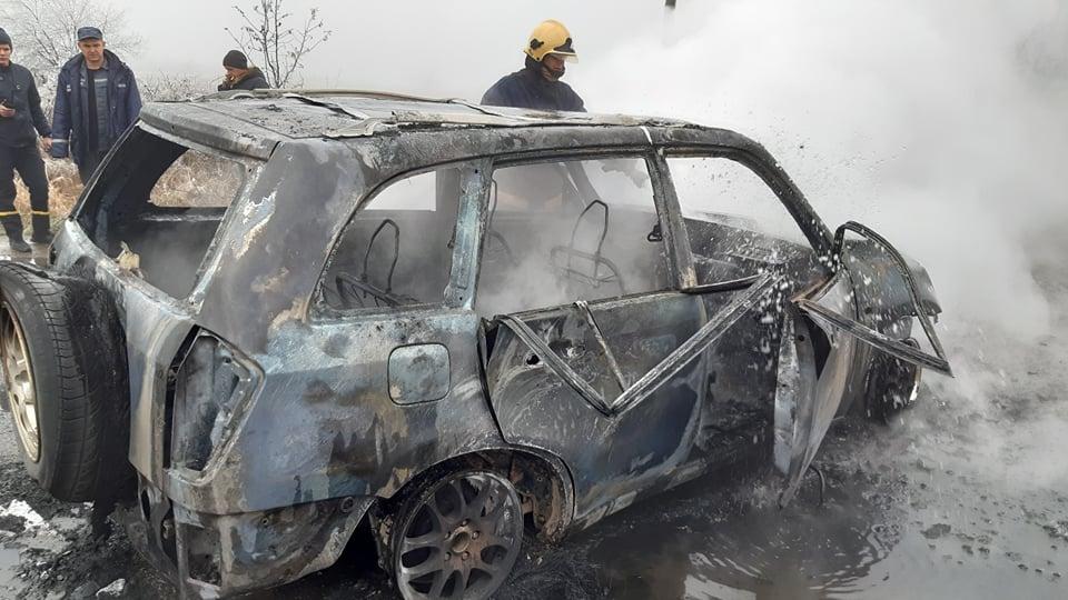пожежа автомобіля