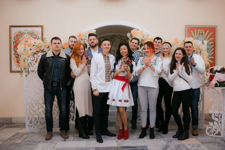 шлюб, Франківськ