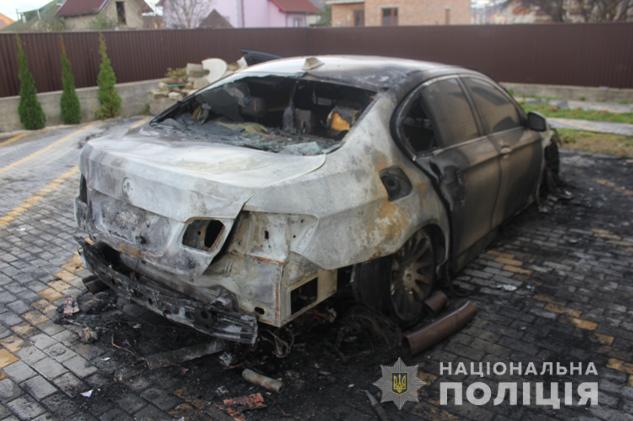 спалили автомобіль прокурора