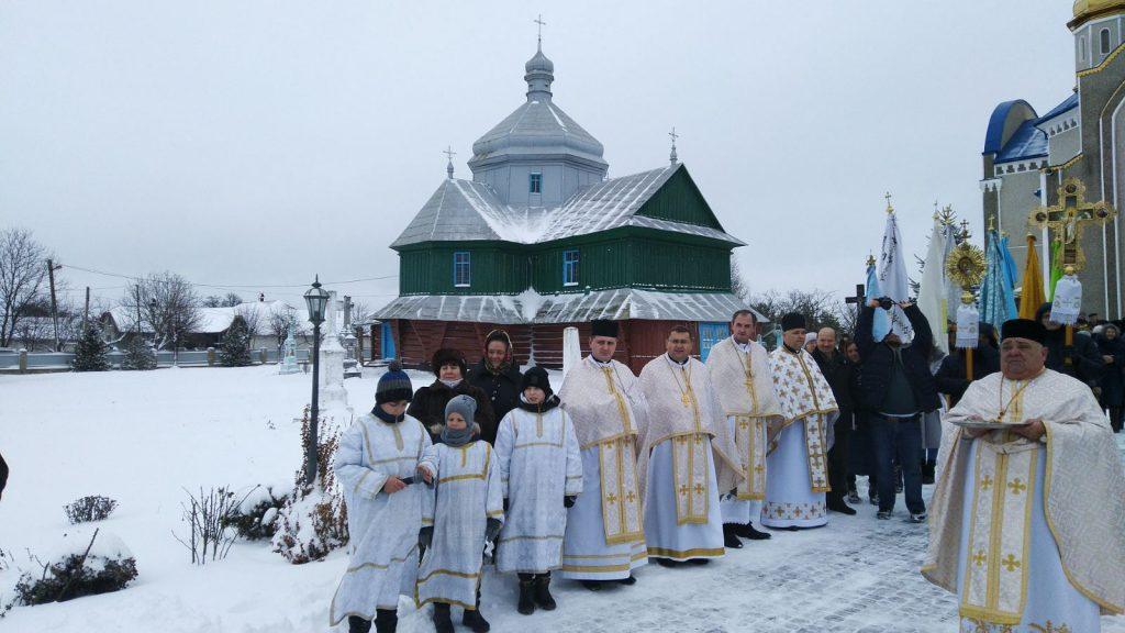 село Верхня, церква