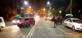 Аварія у Франківську: нетверезий водій пояснив, що відволікся на телефон
