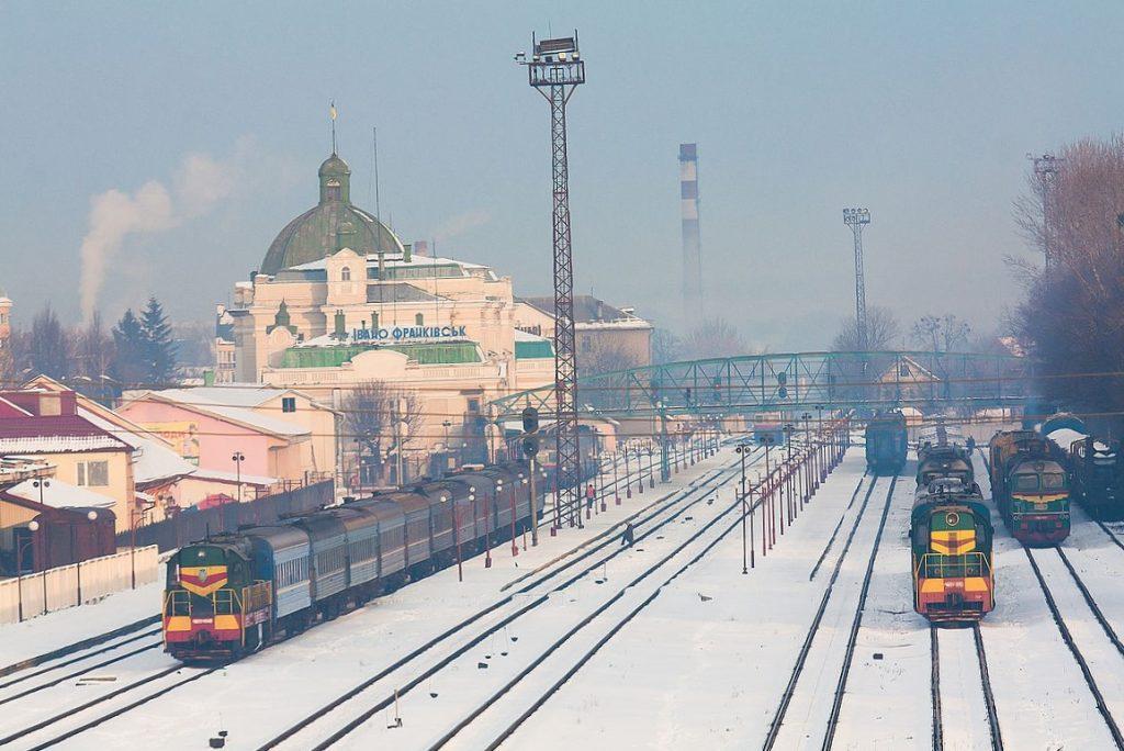 залізниця, Франківськ