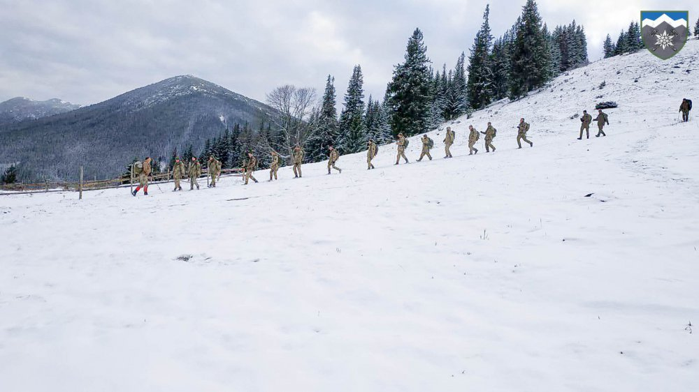 гірські піхотинці у Карпатах