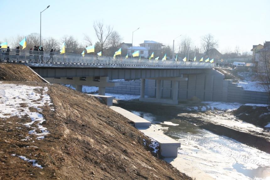 Косів, міст через Рибницю