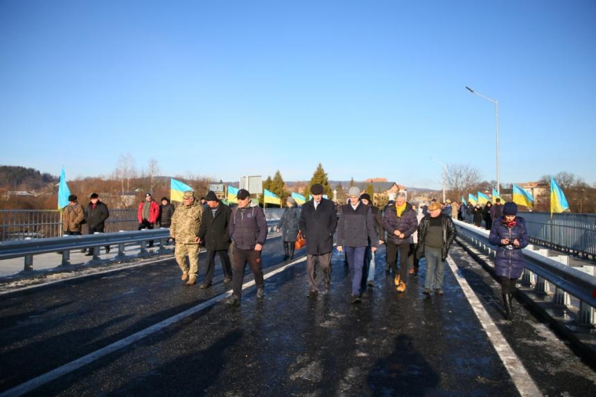 міст через Рибницю у Косові