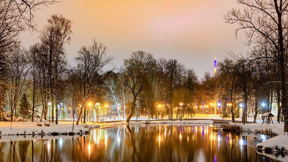 парк Івано-Франківськ