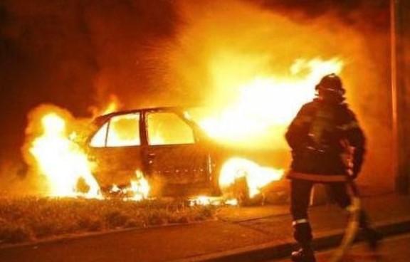 пожежа авто, Монастирчани