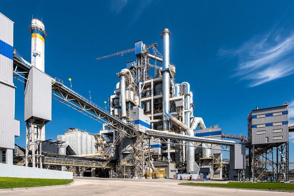 Ямниця, цементний завод