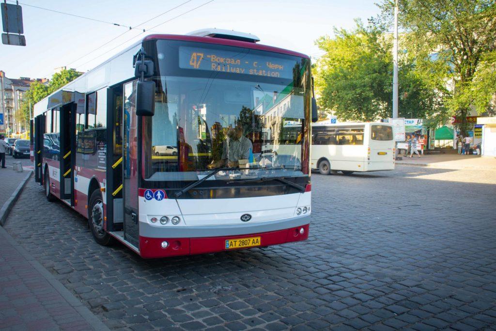 Франківськ автобус