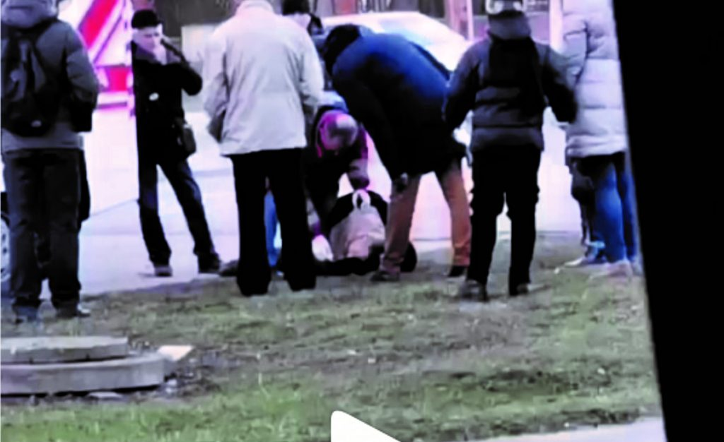 Калуш, помер на вулиці