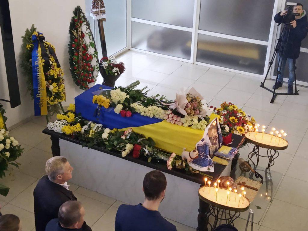 похорон Марії Микитюк