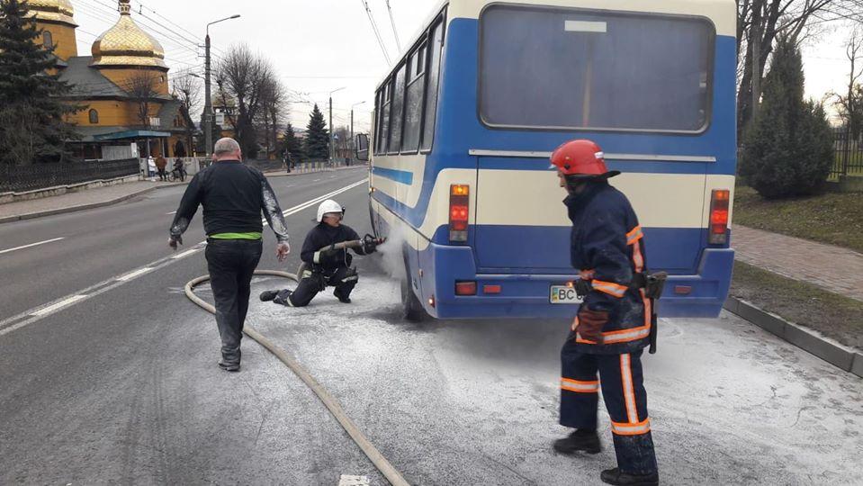 пожежа автобуса