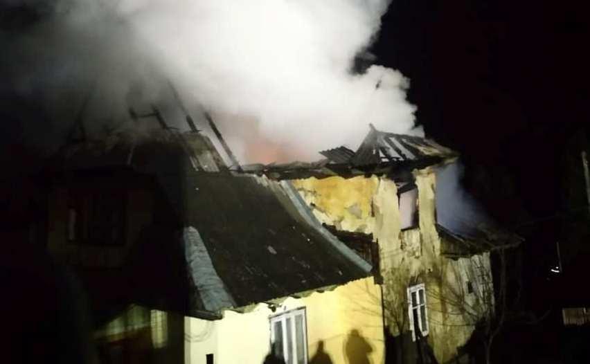 пожежа у Ворохті