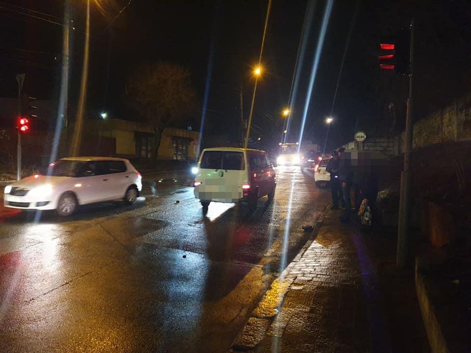 аварія у Франківську на вулиці Деповській