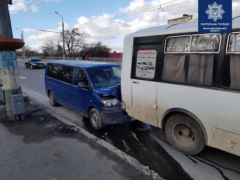 ДТП, Франківськ, автобус