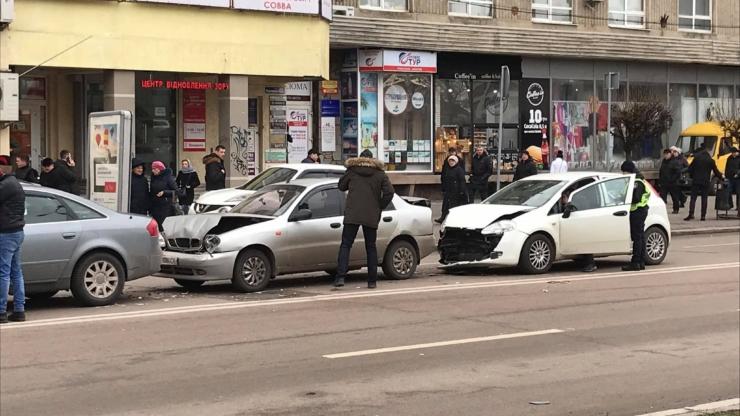 аварія у Франківську