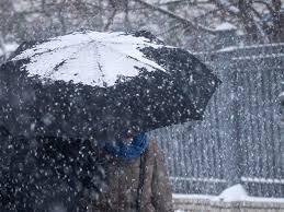 мокрий сніг і ожеледиця