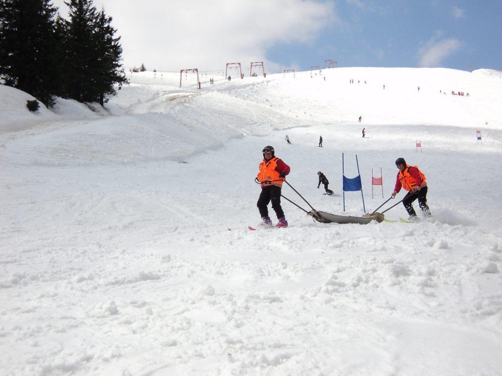 Карпати, сноуборд
