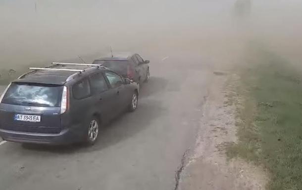 пилова буря Івано-Франківщина