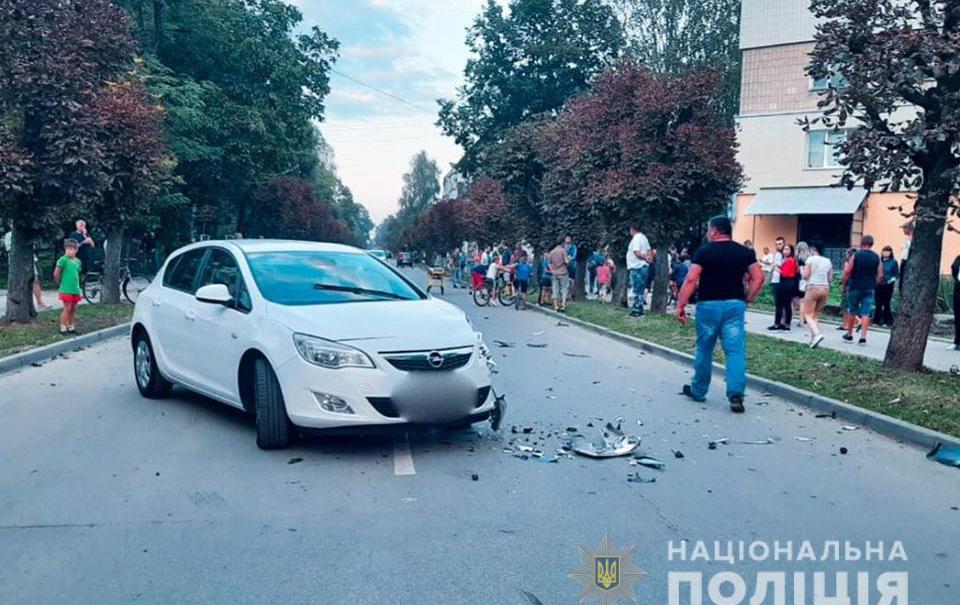 аварія у Коломиї