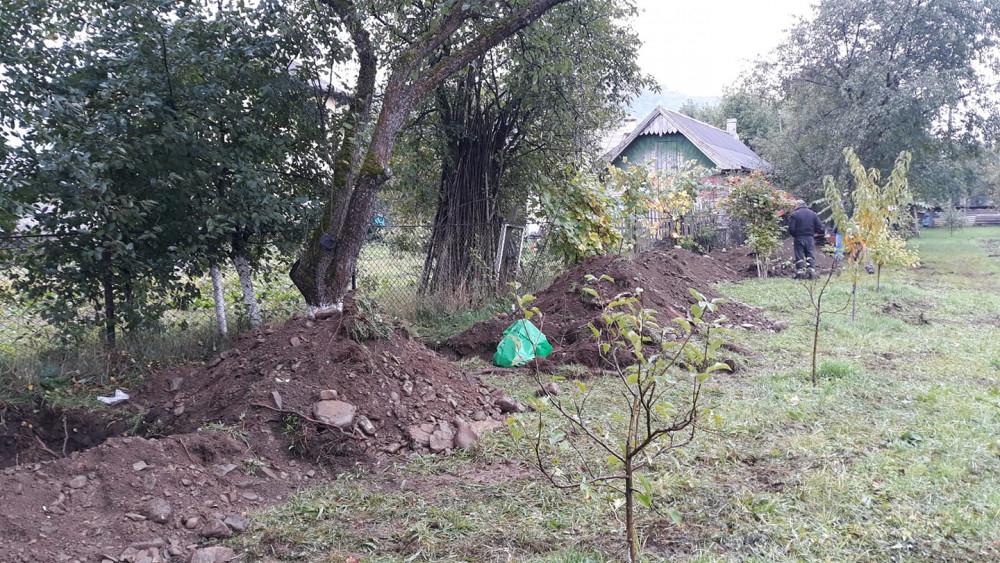 Делятин, поховання загиблих німців