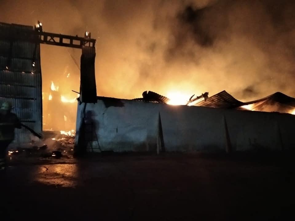 пожежа складу, Велика Кам'янка
