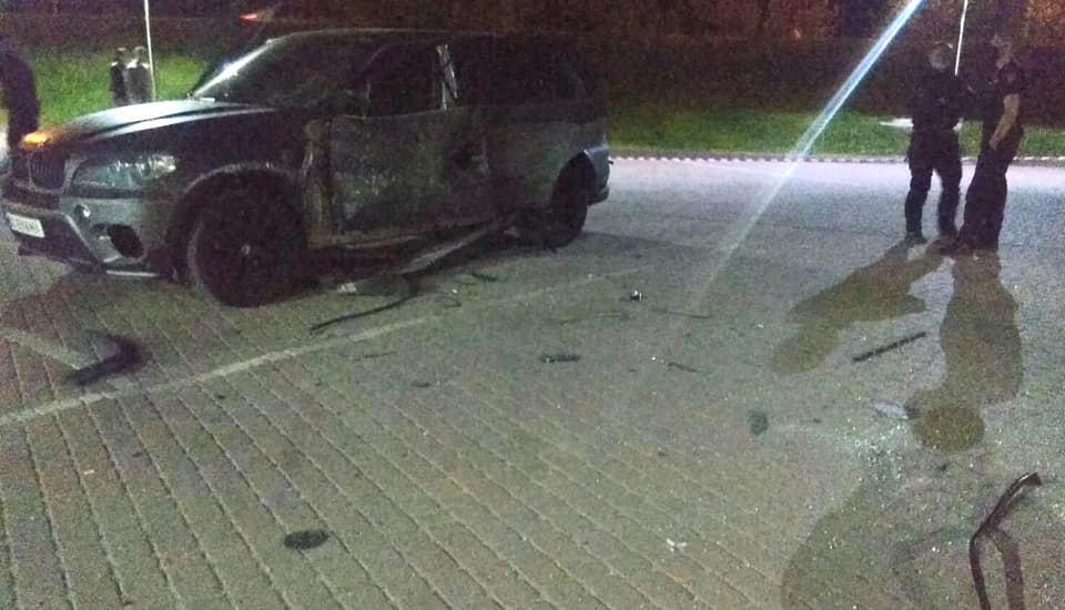 підрив автомобіля у Франківську