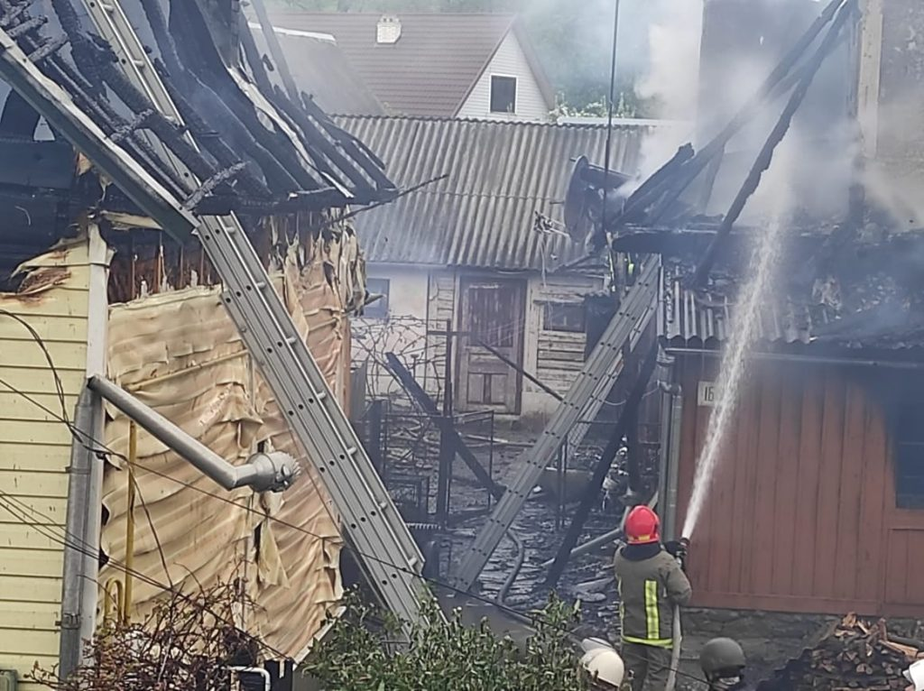 пожежа у Делятині